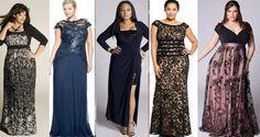 Вечерние платья для полных 2016
