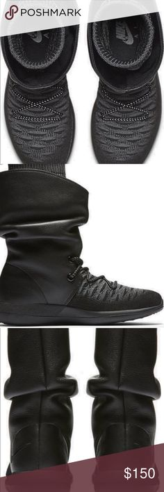 Nike Roshe Two Flyknit Hi Boots New Nike Shoes Winter & Rain Boots