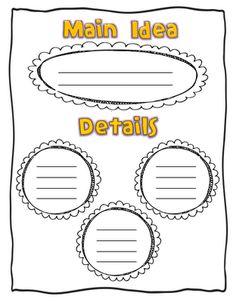 math worksheet : two great main idea worksheets here!  thirdgradetroop   : Kindergarten Main Idea Worksheets