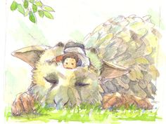 #LastGuardian very cute, can't wait for this game to come out!