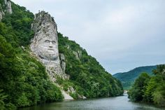 The Colossal Head of Decebalus, King of the Dacians DecebalusDaciansIosif Con