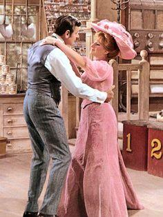 "Walter Matthau and Barbra Streisand in ""Hello Dolly!"""