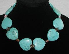 #Turquoise #Necklace ... Sweetheart