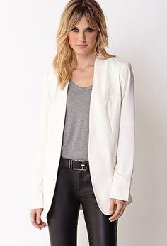 Stand Up Collar Jacket | FOREVER 21 - 2027705219