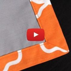 Use mitered corners to create a polished look for your next sewing project.sewing tutorials & tipsSewing for home. Ideas, tips, tutorials and patterns to keep your home beautifully handmade. Sewing Mitered Corners, Quilt Corners, Quilting Tips, Quilting Tutorials, Sewing Tutorials, Sewing Basics, Sewing Hacks, Sewing Crafts, Sewing Tips