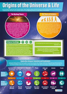 Origins of the Universe & Life Poster