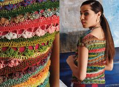 Outstanding Crochet: Hands on new issue of VogueKnitting Crochet.