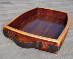 Wine Barrel Furniture Tray