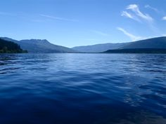 The Shuswap Lake in the Summer. Taken Kayaking from Salmon Arm.