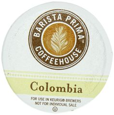 Barista Prima Coffeehouse COLOMBIA 48 K-Cups for Keurig Brewers ** Insider's special review you can't miss. Read more  : K Cups