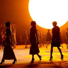 Silhouettes at Marc Jacobs Fall Winter 2013 #Vogue #NYFW