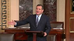 Watch: Ted Cruz savagely scolds Pres. Obama, John Kerry on Senate floor for anti-Israel actions ....