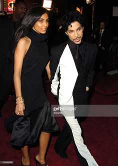 Manuela Testolini and Prince during 'Ocean's Twelve' Los Angeles Premiere - Arrivals at Grauman's Chinese in Hollywood, California, United States.