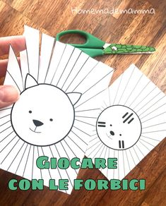 Diy Crafts For Kids, Art For Kids, Arts And Crafts, Paper Crafts, Preschool Cutting Practice, Preschool Art, Scissor Skills, Motor Skills, Fine Motor