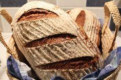 Resultatet av dagens brödbak - två härliga limpor