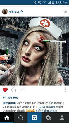 21 scary halloween makeup ideas scary halloween makeup scary bloody nurse halloween makeuphalloween partydiy halloween nurse costumezombie solutioingenieria Images