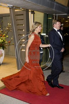Dutch State visit to Denmark day 2 Queen Maxima, King Willem-Alexander  1 March 2015