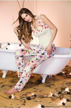 Pijama Pantalón Largo Harem Pants, Jumpsuit, Dresses, Fashion, Babydoll Sheep, Athletic Wear, Underwear, Pants, Sports