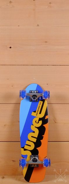 "Sunset Prebuilt 27"" Bitstream Skateboard"