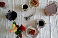 Mohn-Obstkuchen mit Hefeteig - LILA + GLÜCKLICH