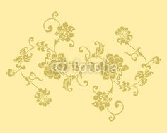 Texture floreale decori - vector illustration - flowers