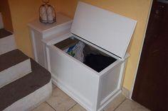 WoodAndKing / Babičkin prádelník - alebo skrinka na všeličo..
