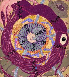 Animælström – Arta Gallery   Jessica Fortner Illustration, Toronto, Canada.