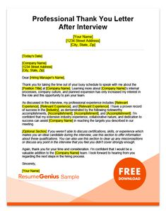 After Interview Thank You Letters Samples Job Interview Answers, Letter After Interview, Job Interview Preparation, Interview Skills, Job Interview Tips, Interview Thank You Email, Job Cover Letter, Cover Letters, Cover Letter Example