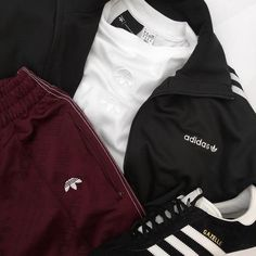 """#OutfitToss on Instagram: """"Today's #OutfitToss winner is @rossxpalmer featuring the following pieces: • #AdidasOriginals #Jacket & #Gazelles • #Adidas x…"""""""