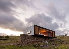 MAPA designs prefabricated house for Uruguayan olive grove