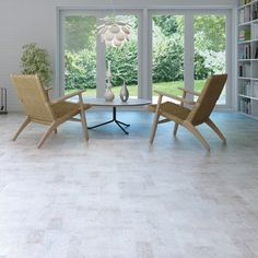 identity moonlight (white cork) floor