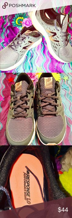 Women's New Balance Shoes Brand new & never worn! These are some of the most comfortable shoes I've ever tried on! The colors are amazingly beautiful!! The orange is like a fluorescent orange and is beautiful! New Balance Shoes Athletic Shoes