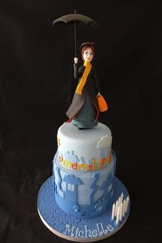 Mary Poppins cake by Galatia