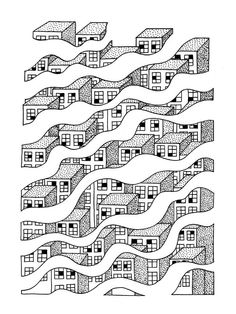 Screen Prints by Timothée Babaud, via Behance Art And Illustration, Illustration Design Graphique, Art Graphique, Grafik Design, Graphic Design Inspiration, Art Inspo, Screen Printing, Design Art, Graphic Art
