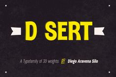 DSert Complete Family 81% Off by Latinotype on Creative Market