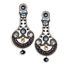 Ayala Bar, Black-Magic Earrings, Fall-2014 - E1082  Price : $290.00 http://www.artazia.com/Ayala-Bar-Black-Magic-Earrings-Fall-2014/dp/B00LRPX3II