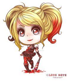 girls can be villains ;)