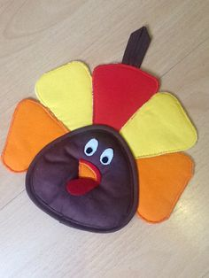 Thanksgiving potholder from Vardenis Sewing