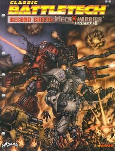 Record Sheets: MechWarrior Dark Age I | Book cover and interior art for Classic Battletech - CBT, BattleMech, MechWarrior, science fiction, sci-fi, scifi, scify, Roleplaying Game, Role Playing Game, RPG, FASA Games Inc., FASA Corporation, Ral Partha Europe Ltd. | Create your own roleplaying game books w/ RPG Bard: www.rpgbard.com | Not Trusty Sword art: click artwork for source