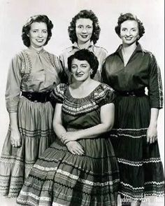 Mother Maybelle & The Carter Sisters - June, Anita, Helen & Mother Maybelle