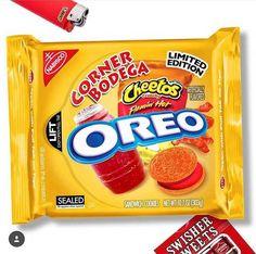 Weird Oreo Flavors, Pop Tart Flavors, Cookie Flavors, Funny Food Memes, Food Humor, Weird Food, Fake Food, New Oreos, Junk Food Snacks