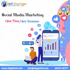 SKP outsources the social media marketing services which are the latest buzzword that increases the online presence of brands and companies thereby increasing their sales and targets. Social Media Marketing Companies, Marketing Technology, Online Marketing, Types Of Social Media, Social Media Channels, Pay Per Click Marketing, Marketing Techniques, Competitor Analysis, Knowledge
