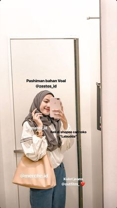 Stylish Hijab, Modest Fashion Hijab, Modern Hijab Fashion, Street Hijab Fashion, Casual Hijab Outfit, Hijab Fashion Inspiration, Ootd Hijab, Hijab Chic, Muslim Fashion