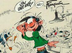 Gaston Lagaffe, l'idée lumineuse d'André Franquin, vit le jour en 1957 dans le journal Spirou.