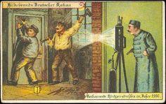 Fantasies of surveillance, 1900 postcard imagining 2000