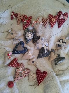 Hearts and garlands x