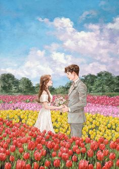 Cute Couple Drawings, Cute Couple Art, Anime Love Couple, Cute Drawings, Romantic Anime Couples, Cute Anime Couples, Anime Love Story, Animated Love Images, Couple Illustration