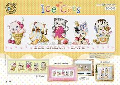 Sodastitch Indonesia SO-G82 - Ice Cats