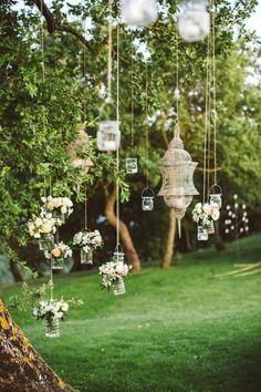 25 Adorable Ideas We Love For Garden Weddings   Weddingomania - Weddbook