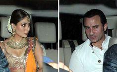 Saif Kareena's Pre Wedding Sangeet Photos, saif kareena sangeet photos,saif kareena wedding,saif kareena marriage, kareena kapoor Wedding,Saif Ali Khan Wedding